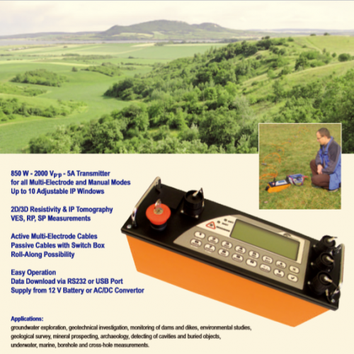ARES - AUTOMATIC RESISTIVITY SYSTEM